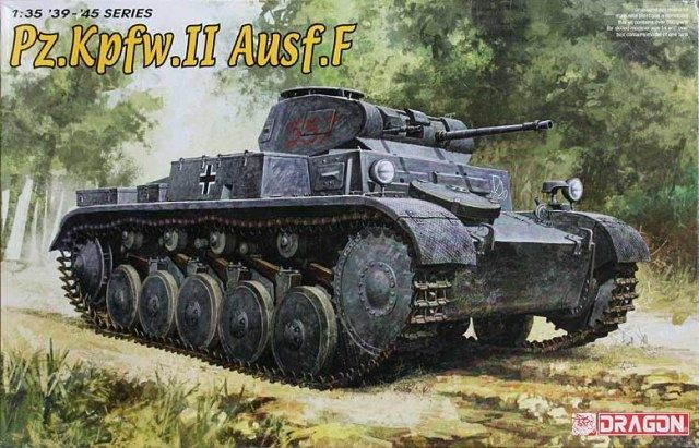 (37.80$)  Watch now - http://aiw3k.worlditems.win/all/product.php?id=32691728409 - DRAGON 1/35 Panzer II Cyber Hobby # 6263