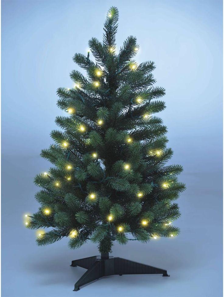 Weihnachtsbaum mit LED Lichterkette, in  verschiedenen Größen