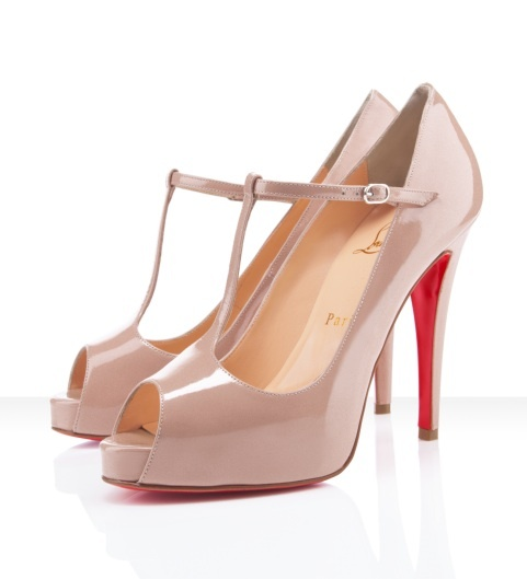 Christian Louboutin Burlina Peep Toe Pumps Show Your Beauty