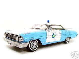 diecastmodelswholesale - 1964 Ford Galaxie 500 Xl Police Blue 1/18 Diecast Model Car by Sunstar, $49.99 (https://www.diecastmodelswholesale.com/1964-ford-galaxie-500-xl-police-blue-1-18-diecast-model-car-by-sunstar/)