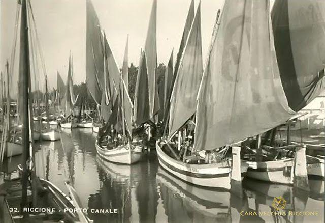 Cara Vecchia Riccione: Flotta di pescherecci
