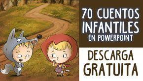 Descarga gratuitamente esta super colección de 70 cuentos en formato Powerpoint para niños de primaria y preescolar totalmente GRATIS.