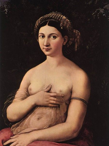 Fornarina - Raffaello Sanzio - Museo Barberini