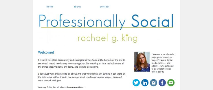 """Named as one of """"The 35 Best Personal Websites We've Ever Seen"""" via @thedailymuse (August 2014)"""