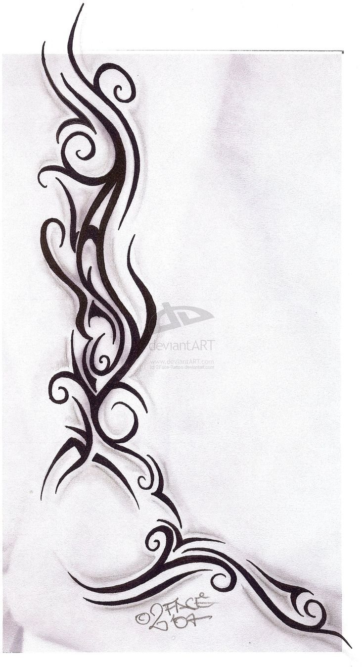 Tattooflash Tribal Design Nice by 2Face-Tattoo.deviantart.com on @deviantART