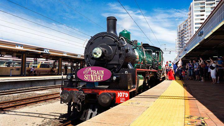 Steam Train Sunday - Visit Brisbane