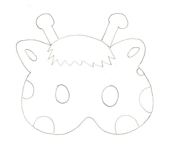 mascaras carnavsl (14) | Fiesta animales de la selva | Pinterest