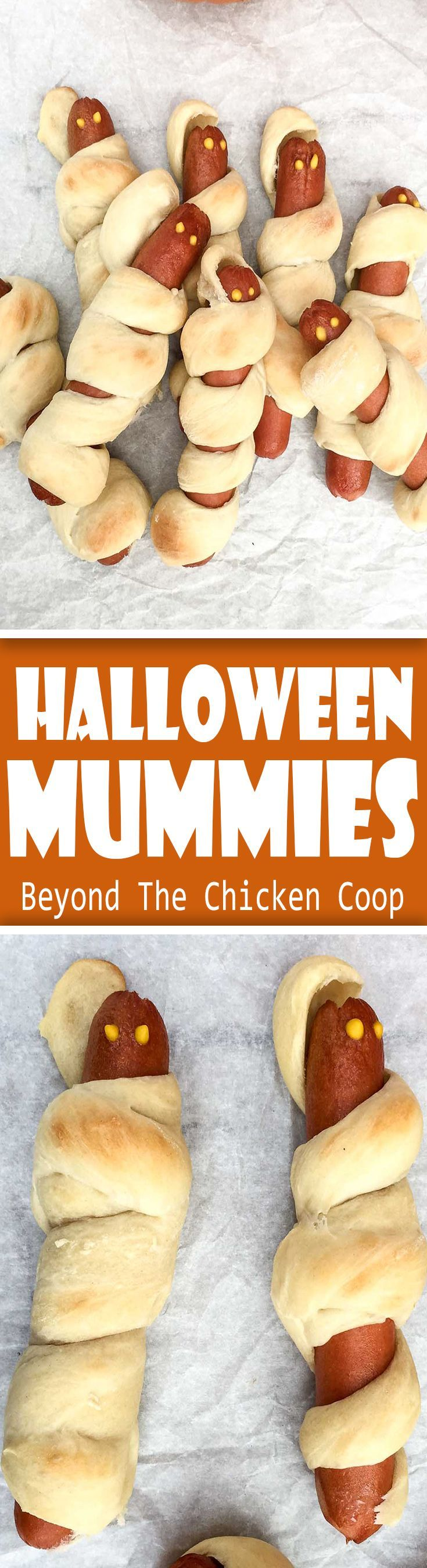 Halloween Mummies! Delightfully frightening treat made for kids of all ages!