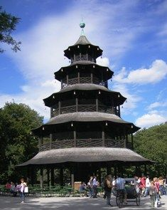 Chinesischer Turm - The Most Famous Beer Garden in Munich I used to live 5 mins from here