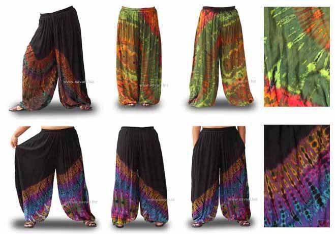 Pantalones Globo Parkour, ropa, étnica, tie dye, estampados, hippies, Yoga