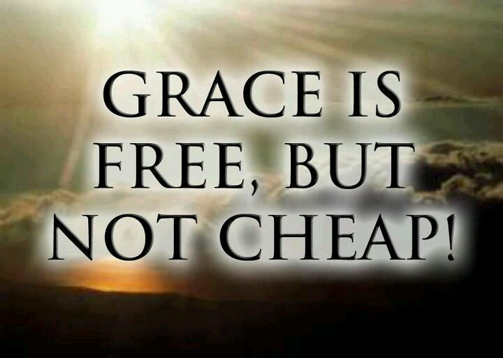God's Redemption At Christ's Expense. G.R.A.C.E.