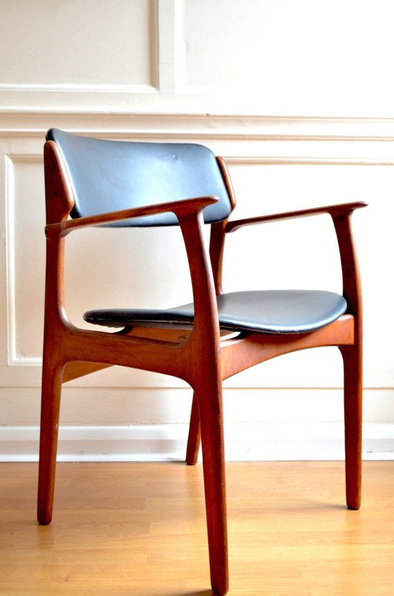 Vintage Danish Erik Buch Model 49 Rosewood Chair By