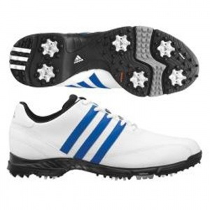 SALE - Mens Adidas Golflite Golf Cleats White - BUY Now ONLY $53.99