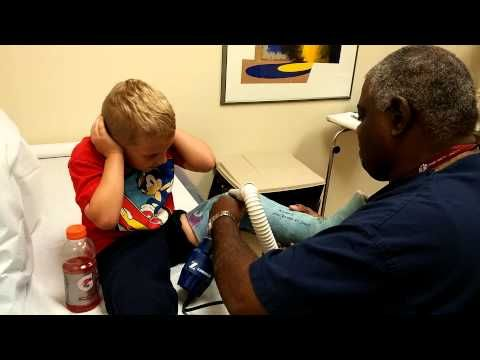 After This Little  Boy Got His Cast Off, He's Was So Excited He Dropped The F-Bomb | After This Little  Boy Got His Cast Off, He's Was So Excited He Dropped The F-Bomb