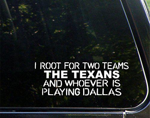 Houston texans bumper sticker
