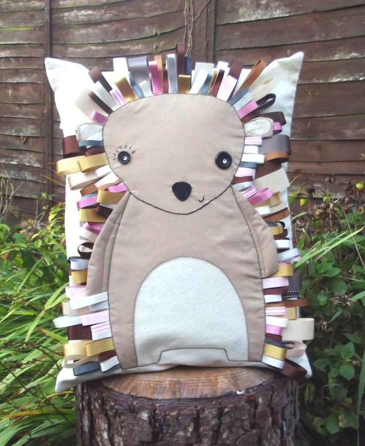 Hedgehog Classroom Decor : Emily the hedgehog cushion � via etsy pillow