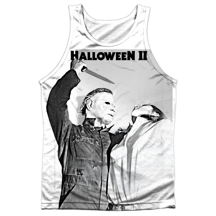 """Checkout our #LicensedGear products FREE SHIPPING + 10% OFF Coupon Code """"Official"""" Halloween Ii/serial Serenade-adult 100% Poly Tank T- Shirt - Halloween Ii/serial Serenade-adult 100% Poly Tank T- Shirt - Price: $24.99. Buy now at https://officiallylicensedgear.com/halloween-ii-serial-serenade-adult-100-poly-tank-shirt-licensed"""