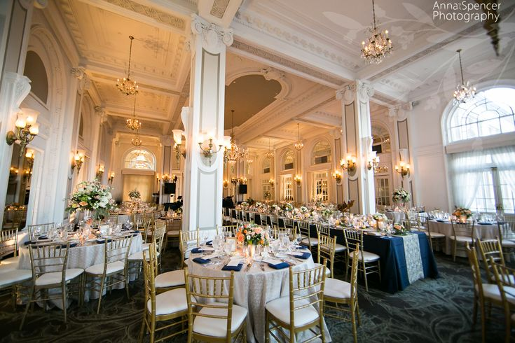 Atlanta wedding reception venue: The Georgian Terrace Hotel Ballroom