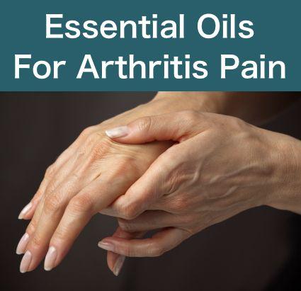 Essential Oils For Arthritis Pain...http://homestead-and-survival.com/essential-oils-for-arthritis-pain/