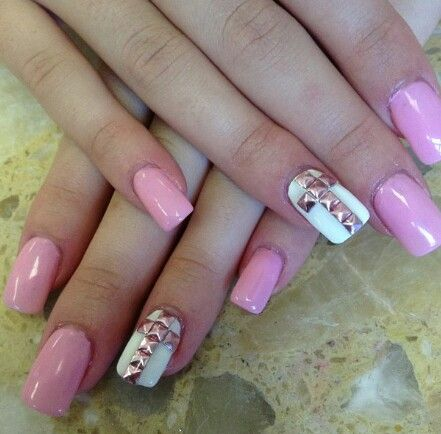 mom I cannot wait to get my nail tape to do this. It looks so pretty:-D Cross pink nails
