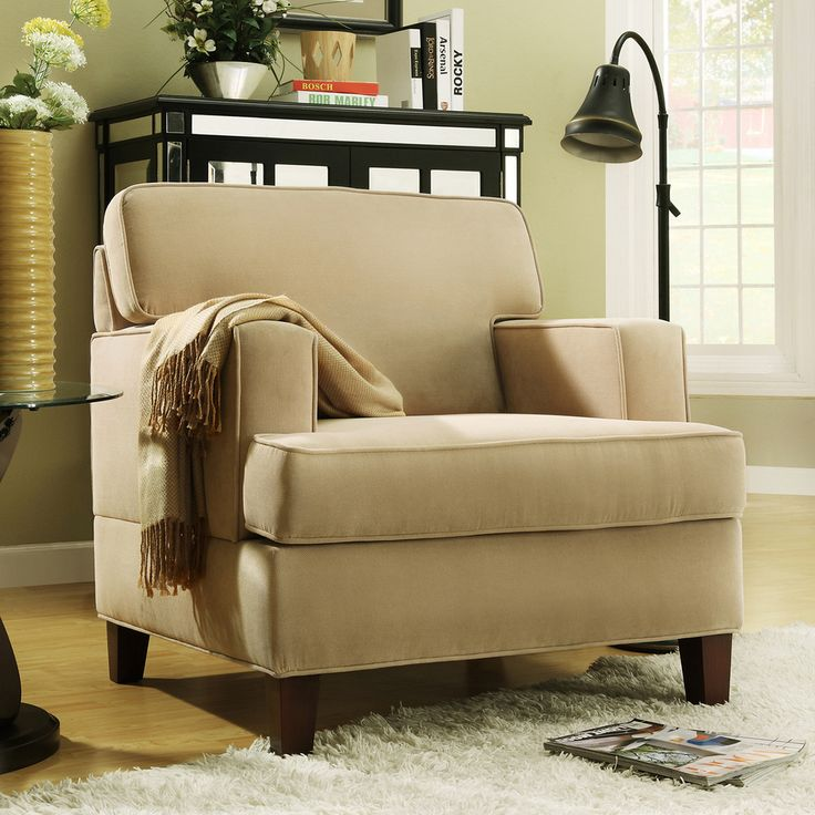 Stewart Beige Track Arm Modern Accent Chair. Living Room ... - 22 Best Images About Chairs From Overstock On Pinterest Taupe