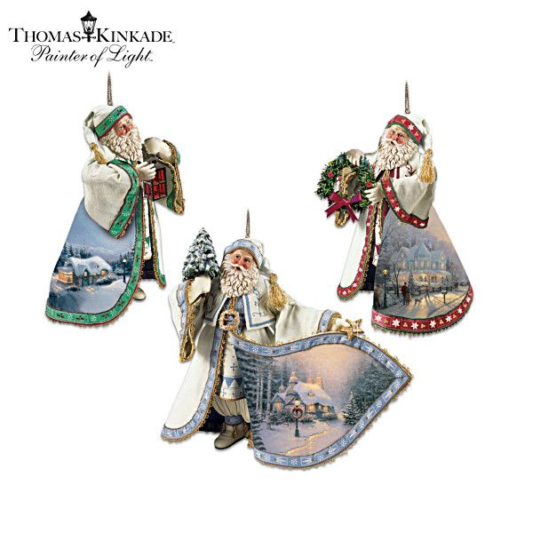 141 best Thomas Kincaid ornaments images on Pinterest  Thomas