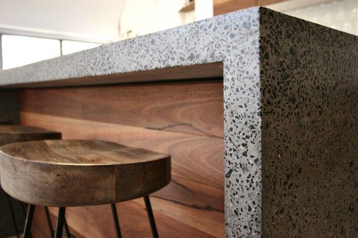 Polished Concrete Island Bench  Bondi Beach 3