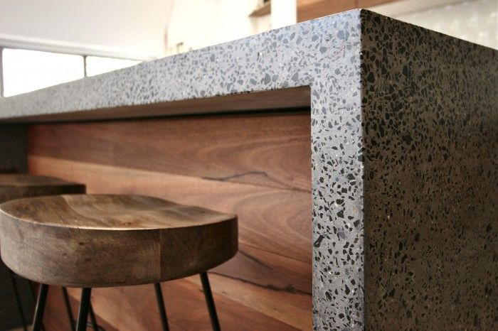 Polished Concrete Island Bench  Bondi Beach 3