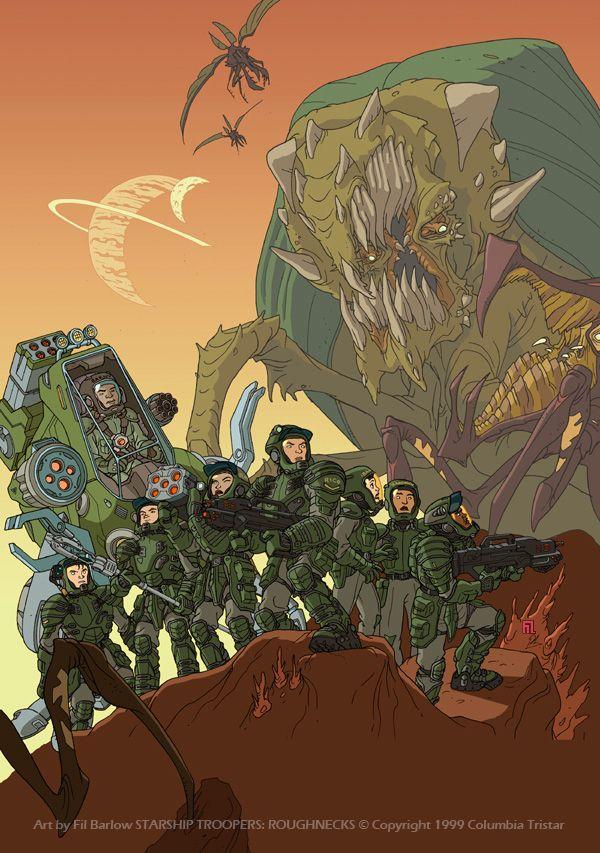 Starship troopers: Roughnecks by filbarlow.deviantart.com on @DeviantArt