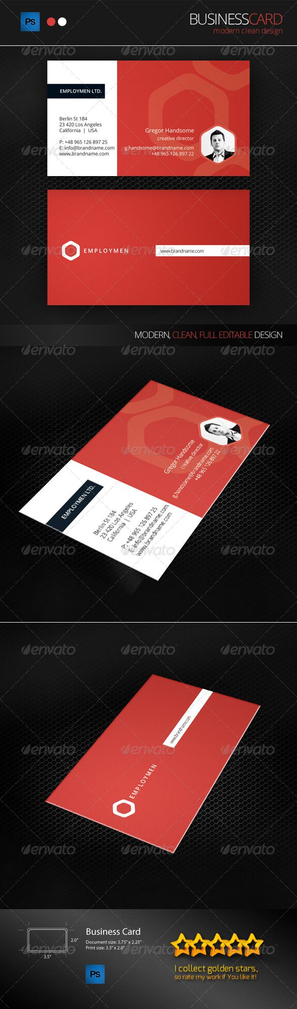 17 best images about print templates on pinterest fonts for Double sided business card template illustrator