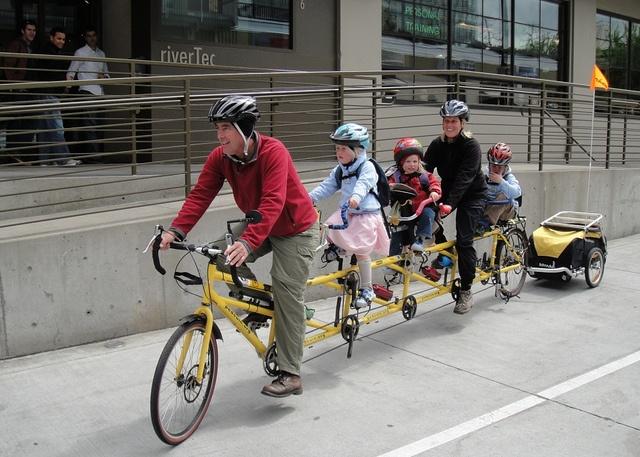 Family bike ride #KEENrecess #bikingabout