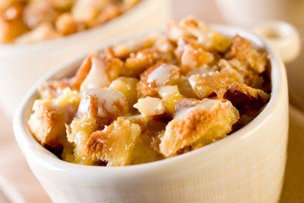 Pudding au pain, au caramel et au café  A.L. Van Houtte :::