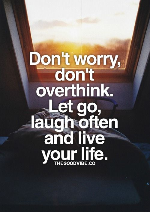 Let go...
