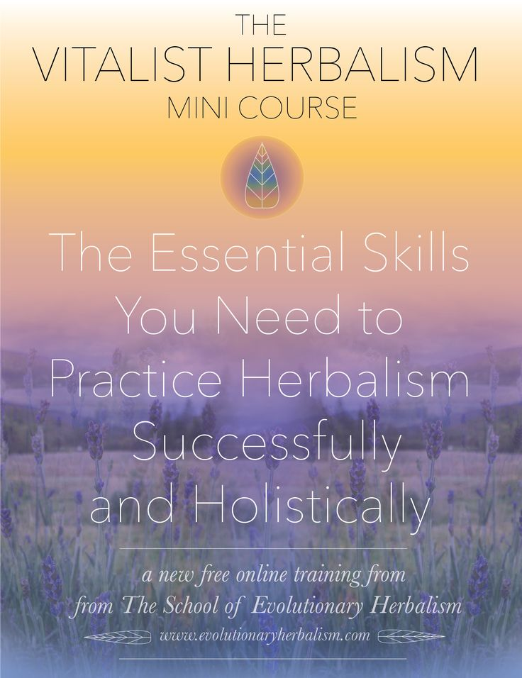 Get the Vitalist Herbalism Mini-Course for FREE, where you will learn the critical skills and strategies in the practice of true holistic herbalism. In this first lesson you will learn the #1 critical factor that distinguishes you as a vitalist herbalist (it's the main thing most herbalists overlook!) Click here to register for this totally free program!