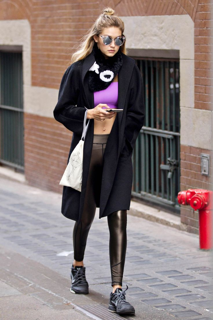 Gigi Hadid Out And About In New York City November 1st 2015 Street Chic Pinterest