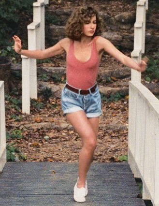 Dirty Dancing. I loved this movie in primary seven after a friend let me borrow it.