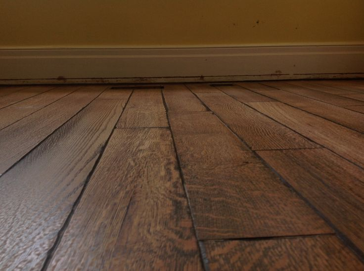 Rift And Quartered White Oak Pillowed Edge Wire Brushed