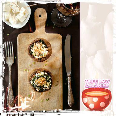 Γεμιστά μανιτάρια με τυρί - Συνταγές - Tlife.gr