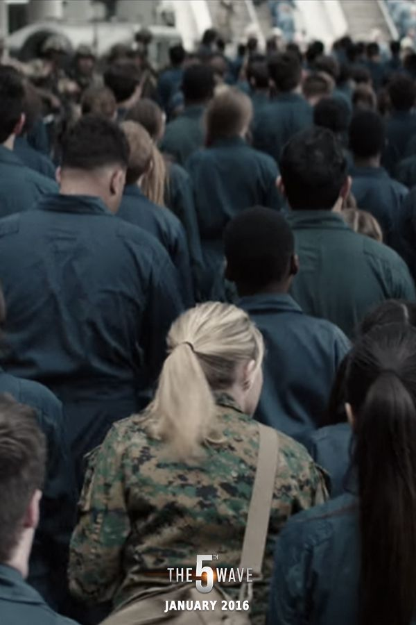 """""""The Others took Sam, and I'm gonna go get him."""" - Cassie   The 5th Wave, in theaters on Jan 22, 2016 #5thWaveMovie"""