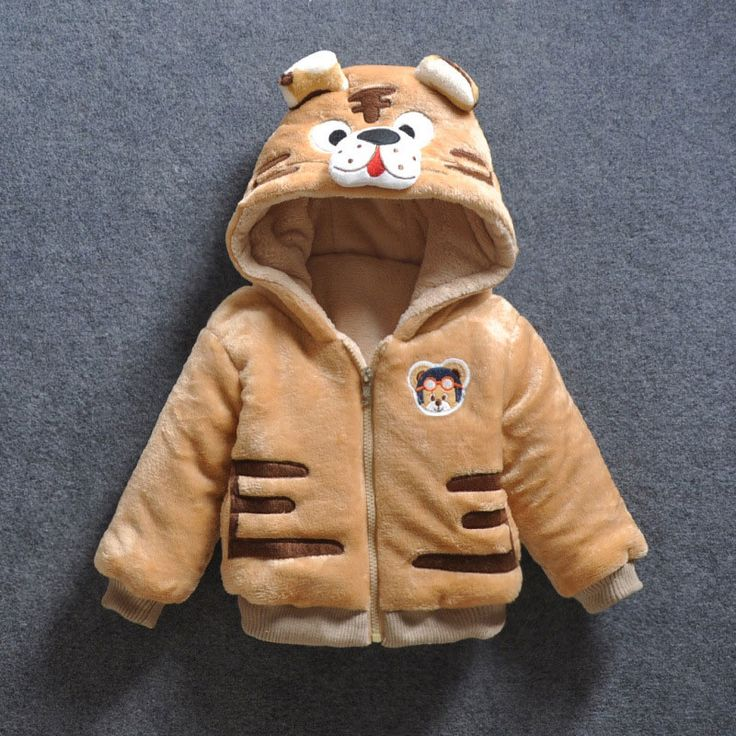 >> Click to Buy << Baby Girl Boy Cartoon Tiger Down Hooded Jackets Cute Warm Winter Outerwear Newborns Coats Toddler Clothing Infant Bebes Clothes #Affiliate