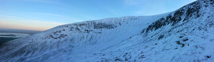 Nephin Mountain in the Snow!