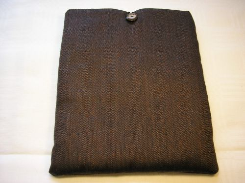 I-pad Cover In Wool/Cashmere Tweed.