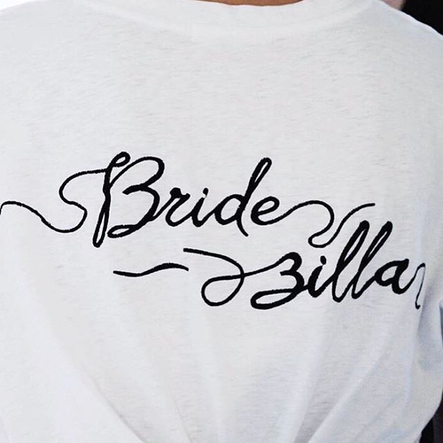 • BRIDEZILLA • @thismodernrevelry absolutely owning it • Available online • Visit the link in our bio • #chosenbyoneday #onedaybride #bride #wedding #oneday #bridezilla #melbournewedding #weddingdress #bridesmaids #hensday  #Regram via @onedaybridal