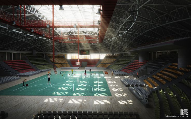 Stadium interior visualisation