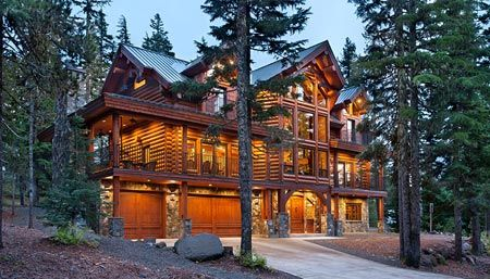 One Day Epic Log Home Dream Home Pinterest Home