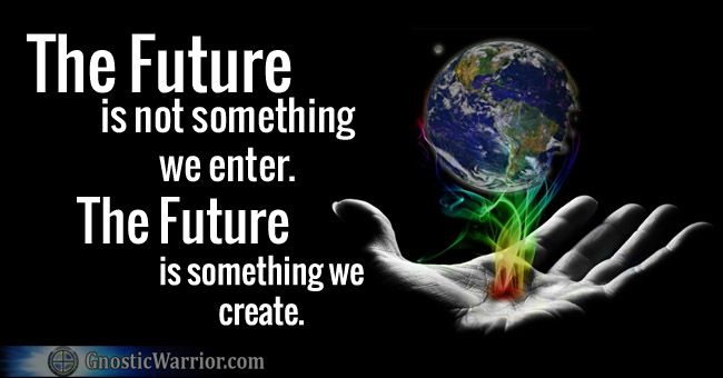 john trudell quotes | The future is not something we enter ...