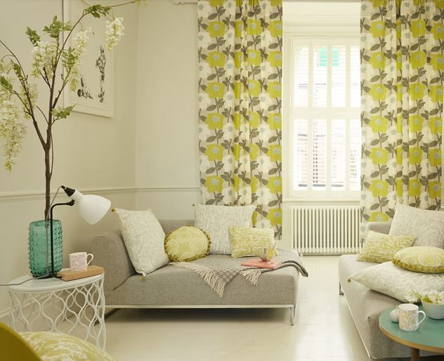 #southbank #madetomeasure #curtains #blinds #cushions #wallpaper #prestigious #textiles #grey #neutral #green www.ashley-interiors.co.uk #denbydale #yorkshire