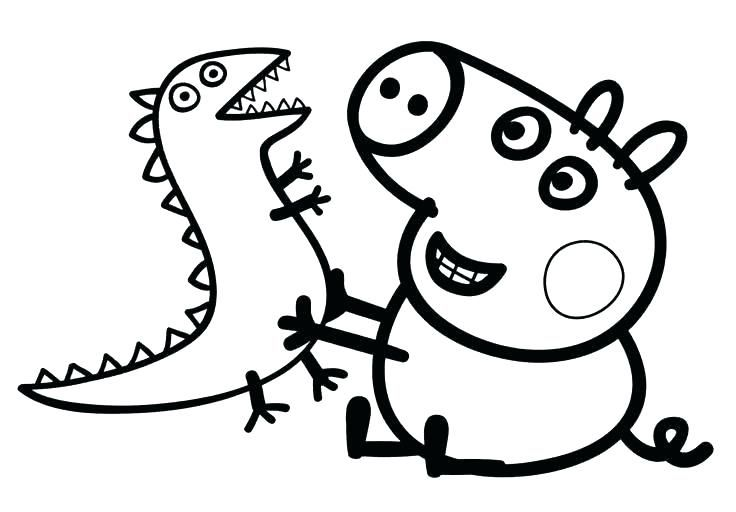 Cartoon Coloring Pages - Best Coloring Pages For Kids Peppa Pig Coloring  Pages, Dinosaur Coloring Pages, Peppa Pig Colouring