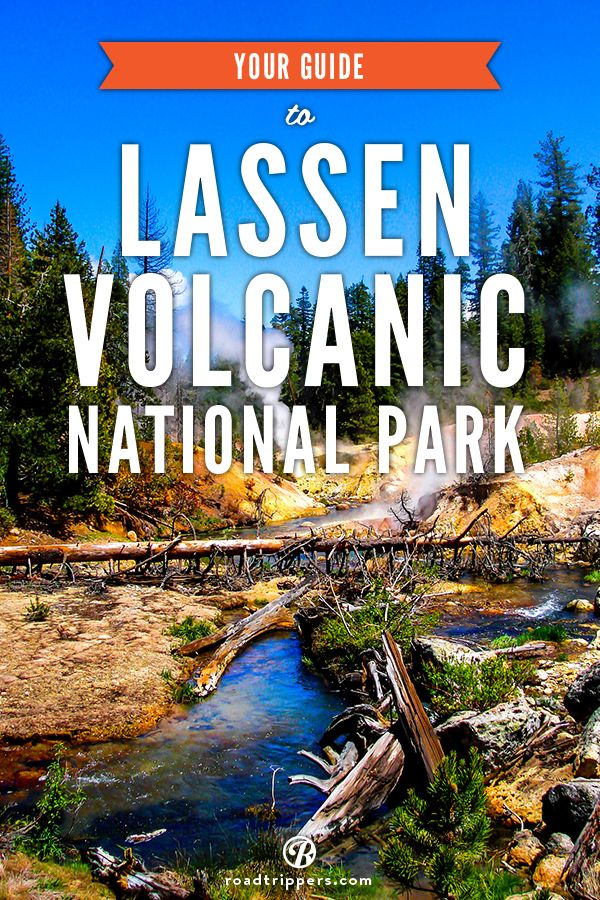GoAltaCA | This lesser-known national park, located in Northern California, is a great place to let your inner Bill Nye out and explore each type of volcano for yourself!