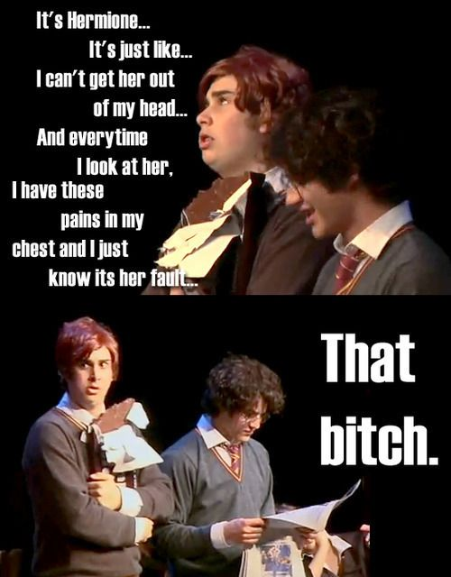 that bitch - A Very Potter Musical Photo (14243967) - Fanpop | We Heart It